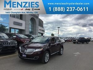 2011 Lincoln MKX AWD, Bluetooth, Navi, Pan Roof, Clean Carproof