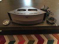Altec Lansing iPod speaker docking system