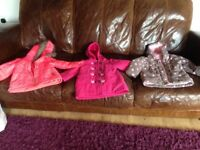 Girls clothes - coat bundle 2-3 and 3-4