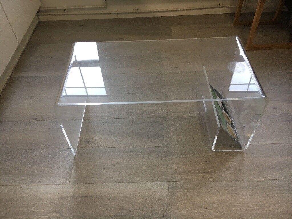 Muji Acrylic Coffee Table