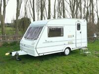 Abbey chorus 2 berth caravan