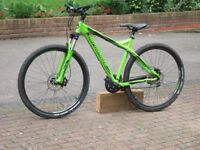Mens mountain bike as new and never used