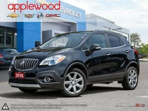 2016 Buick Encore Leather ONE OWNER, AWD, NAVIGATION, SUNROOF...