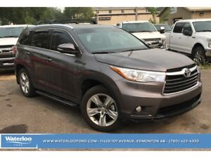 2015 Toyota Highlander Limited | Heated/Cooled Seats | Panoramic