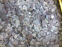 Plum Slate Chippings For Sale