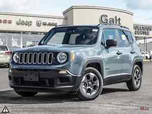 2018 Jeep Renegade SPORT | MANUAL ROOF RAILS BLUETOOTH 5.0TOUCH