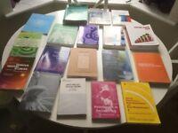 Social Work books x 18