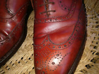Crockett and Jones Brogue Roxburg Size 9 UK