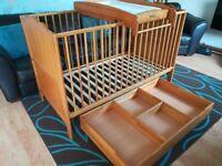 Mamas & Papas Rita Pine Cot/Cot bed