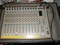SECK 122 Mixing Desk - Vintage recording studio MIxer