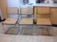 3 CHAIRS FREE TO COLLECT