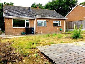 3 bedroom bungalow for sale in Wareham, Dorset for quick sale-no chain