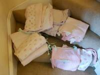 Mothercare Cot Bedding set and curtains