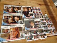 Royal Wedding 1986 Stamp and Postcard Collection