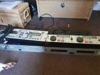 2 lots of dj equipment