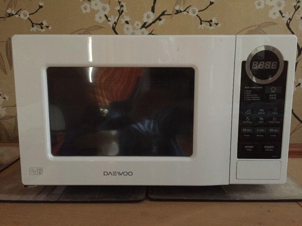 Daewoo Digital Microwave (5 months old)   in Nottingham ...