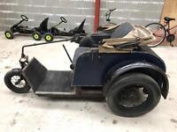 Vintage Invalid Car