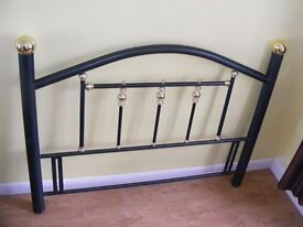 CAN DELIVER - BEAUTIFUL KING SIZE HEADBOARD PURCHASED FROM MARKS AND SPENCER FOR £200