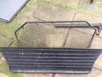 Ford Escort Van bulkhead and security cage