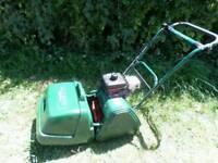 ALLET petrol mower