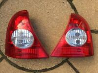Renault Clio lights