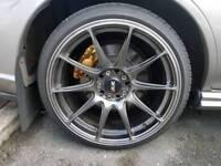Xxr 527 alloys and tyres