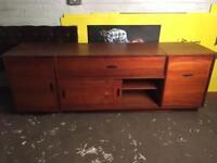 Vintage/retro teak sideboard/fb stand