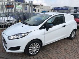 2014 FORD FIESTA BASE VAN 1.5 TDCI CHEAP BARGAIN SUPERB DRIVE AND CONDITION CHEAP BARGAIN NO VAT !!