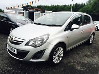 2014 Vauxhall corsa, 1.4 SE, Top Spec, 12 Months Warranty, 2 Years MOT, Finance available