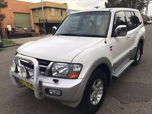 2002 MITSUBISHI PAJERO (4X4) EXCEED AUTO IN VERY GOOD CONDITION Greenacre Bankstown Area Preview