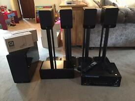 Q Acoustics & Sony Home Cinema/AV full system