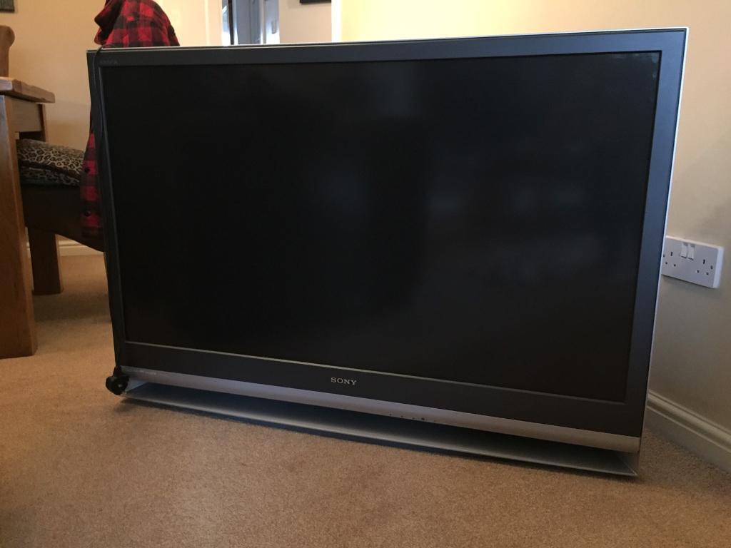 sony tv 50 inch. sony bravia lcd tv - 50 inch £60 bargain sony tv v