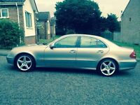 Hi I have for sale my Mercedes Benz e 220 disel avangarde,automatic gearbox,