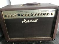 Marshall amplifier for electro acoustic guitar