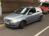 Vauxhall Corsa 2004 1.2 design bargain px to clear (not spares repairs)
