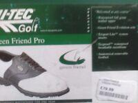 HI-TEC greenfriend pro golf shoe's 10s New.