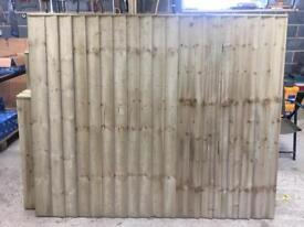 🦋 Pressure Treated Vertical Board Wooden Garden Fence Panels