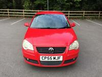 2005 (55 PLATE) VOLKSWAGEN POLO 1.4 S 3DR RED