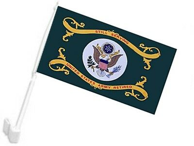"12x18 Army Still Serving Green Car Vehicle 12""x18"" Flag for sale  Shipping to Canada"