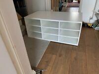 IKEA PAX BUILT IN SHOE RACK UNIT WHITE 100x58cm RRP £100