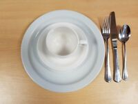 Chinaware and Cutlery Sets - £25 for 20 sets