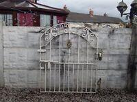 wrought iron gate / garden gate / driveway / house gate / side gate / metal gate / steel gate