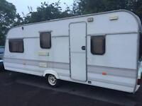 Lunar premier super 516 5 Berth caravan, awning and extras