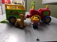 Old MacDonald Tractor Set & Skittles