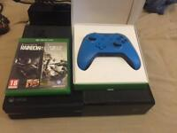 Xbox one blue controller and rainbow six siege