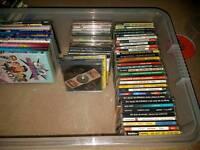 Dvd and cdg karaoke discs