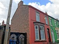 Liverpool - lovely three bed end of terrace house with back yard, separate dining room and lounge