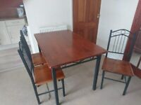 Ding Table and Four Chairs