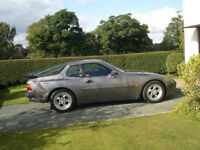Porsche 944 Turbo, low mileage, genuine original clasic car (never resprayed to hide rust)