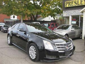 2011 Cadillac CTS Base 6 cyl  RWD Black on Black Leather